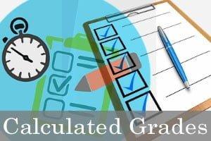calculated grades 2020