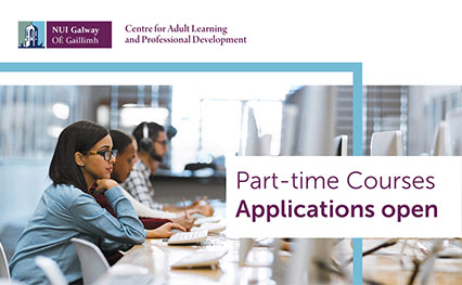 part time and evening courses with NUI Galway