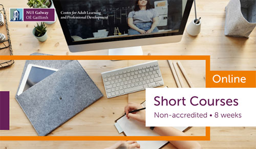 Short online courses with NUI Galway