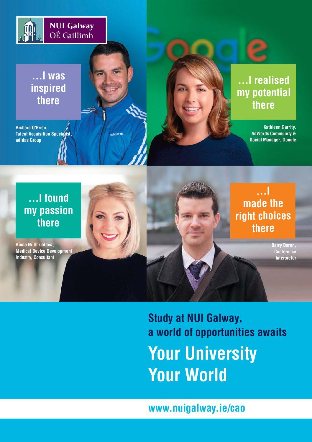 NUI Galway CAO Brochure