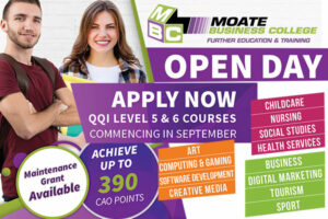 Moate Business College Open Day