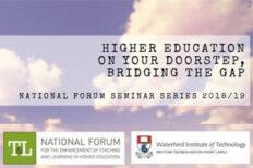 Higher Education on your Doorstep, Bridging the Gap