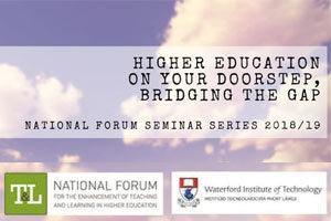Higher Education on your Doorstep, Bridging the Gap
