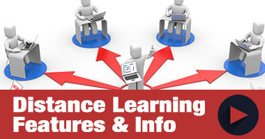 Distance Learning and Online Course Features