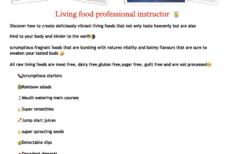 Living Vegan Food Experience- Thursday