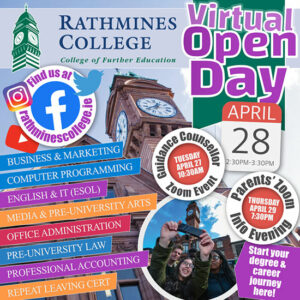 Rathmines College Virtual Open Days